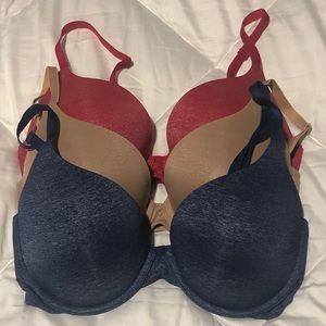 Victoria's Secret Padded Perfect Coverage bras